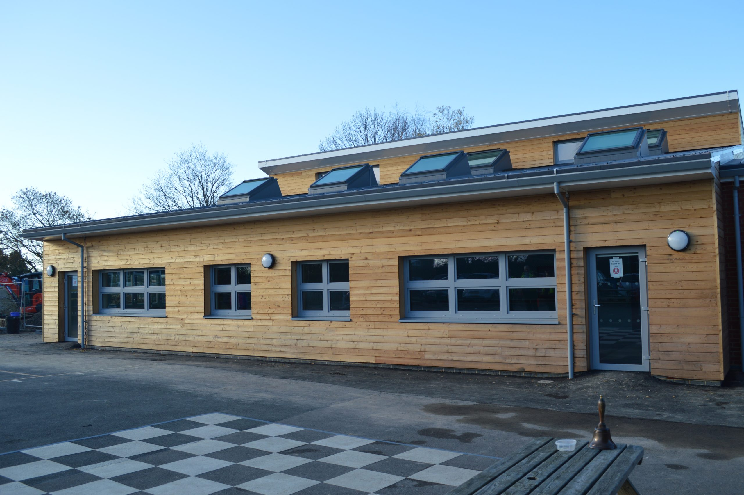 Modular build at School