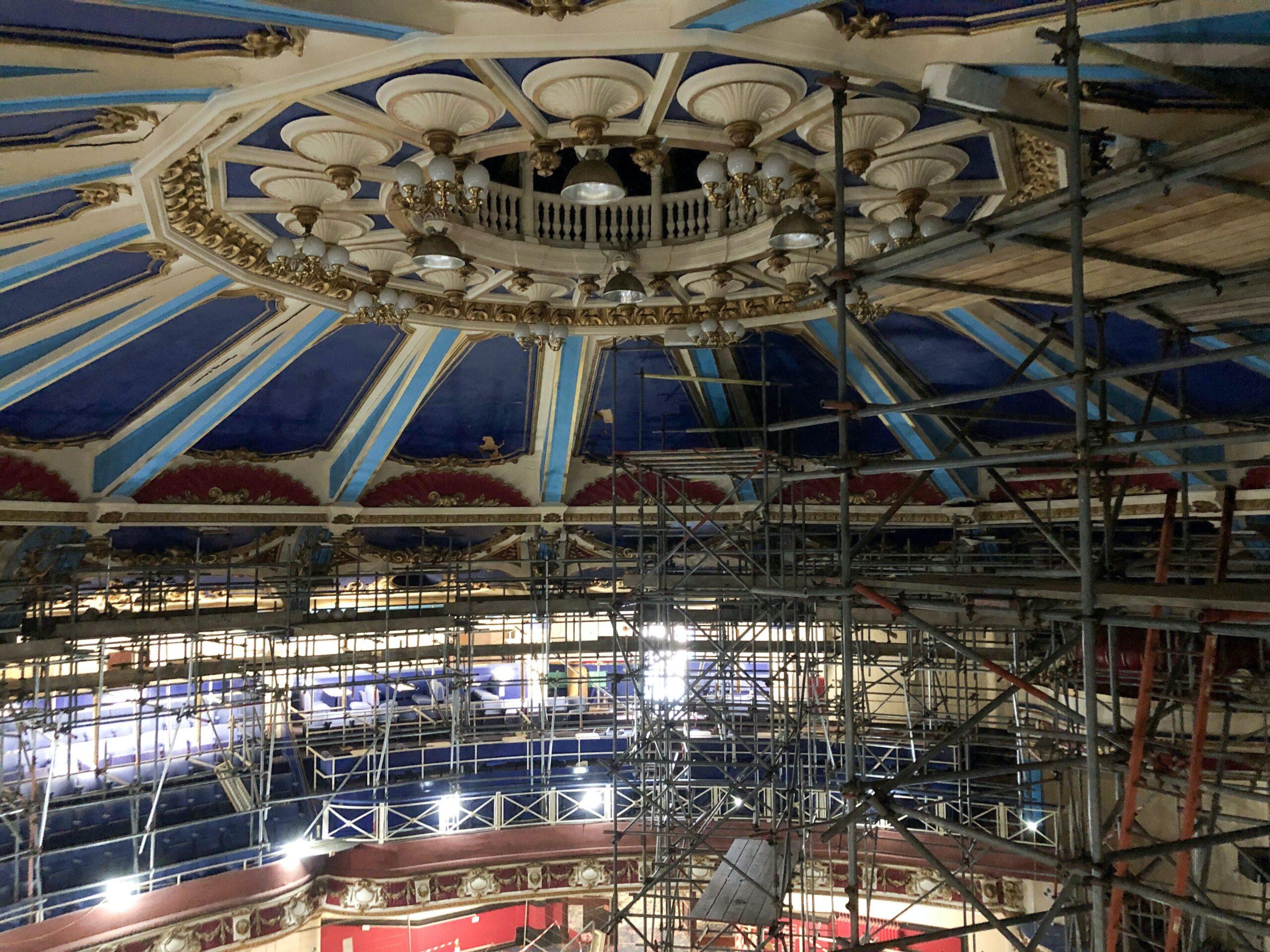 Brighton Hippodrome ceiling