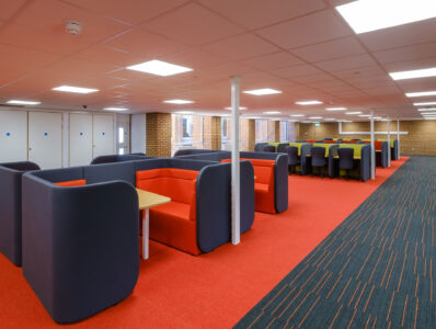 New Library Study Space, University of Sussex